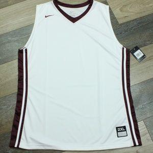 Nike Sleeveless Basketball Tank Top Red Men Sports